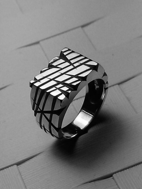 Anello alluminio scratch
