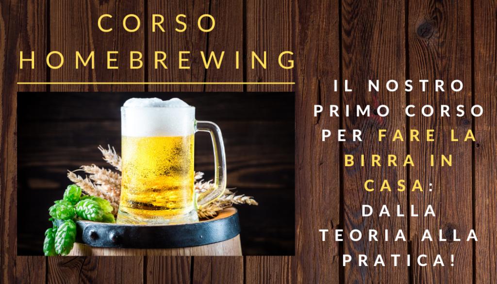 Corso birra homebrewing