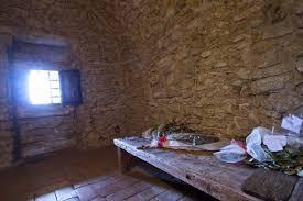 la cella dove visse gli ultimi giorni il conte cagliostro