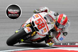 Marco Simoncelli al Misano World Circuit - 5 minuti da Riccione