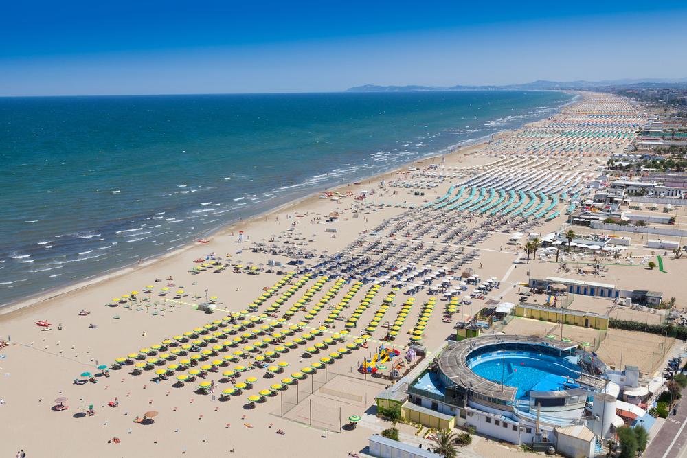 La spiaggia per la vostra vacanza estiva  a Rimini