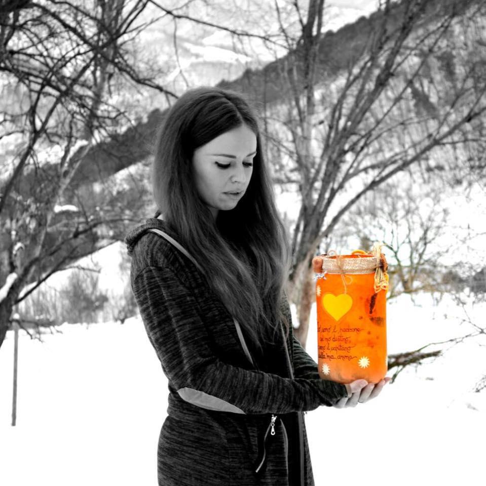 Valentina Lanterna Arancione