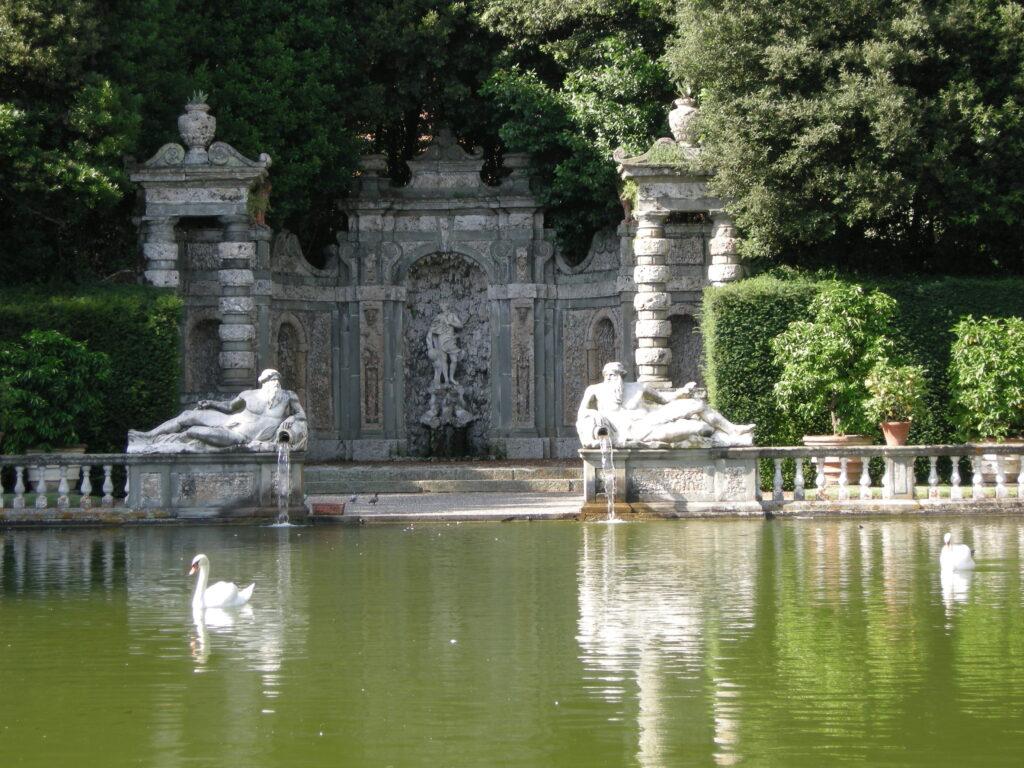 Villa Reale di Marlia, fontana