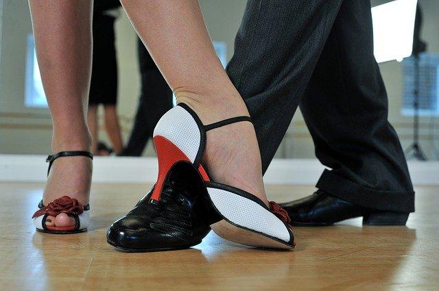 le scarpe dei ballerini di tango