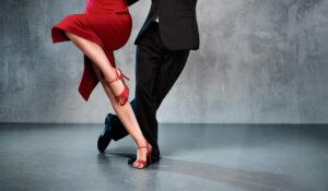 ballerini di tango in colgada