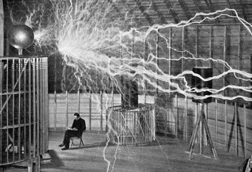 bobina di Nikola Tesla