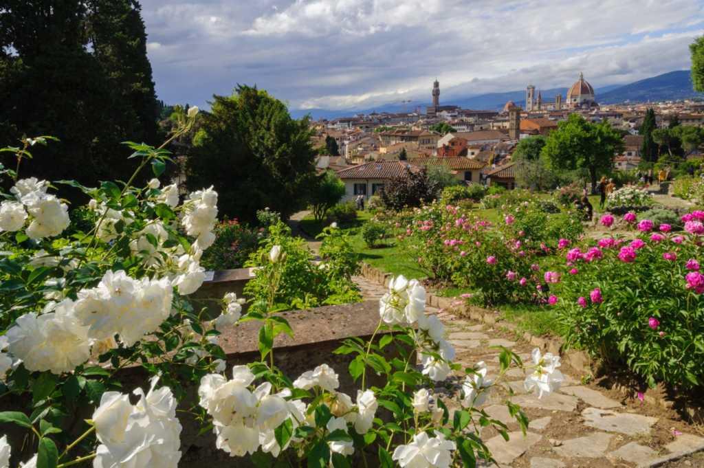 giardini di Firenze giardino delle rose