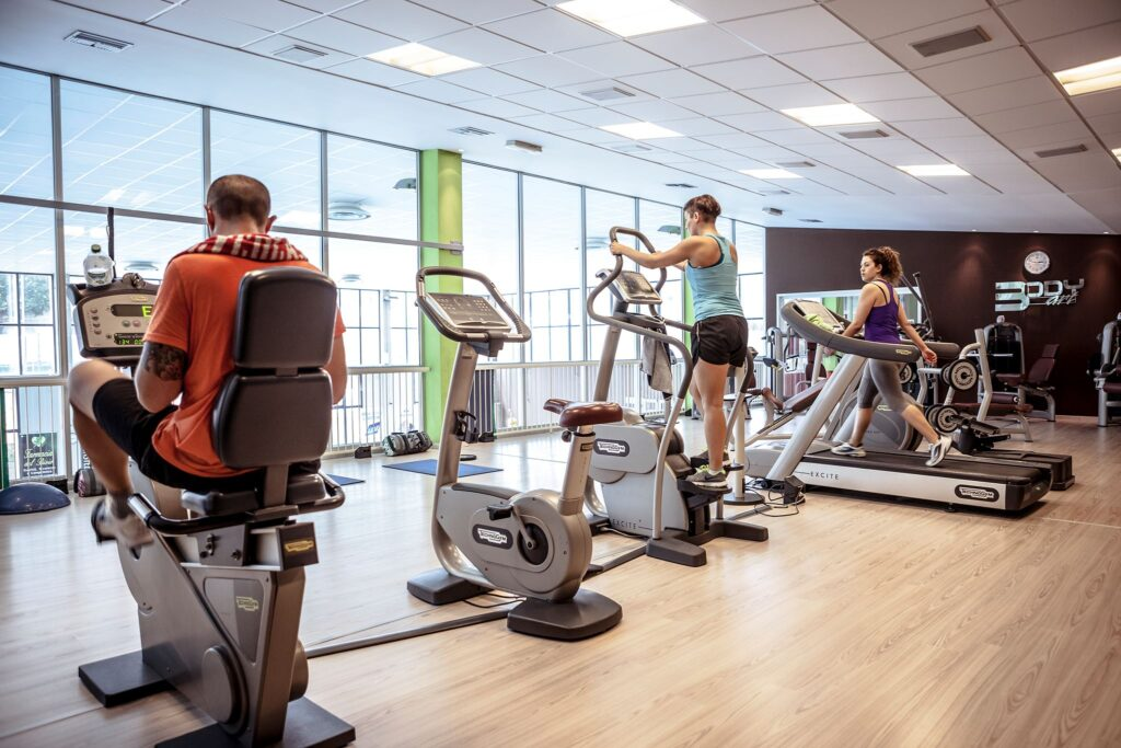 Sala fitness e attrezzi Technogym