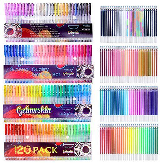 composizioni di penne colorate