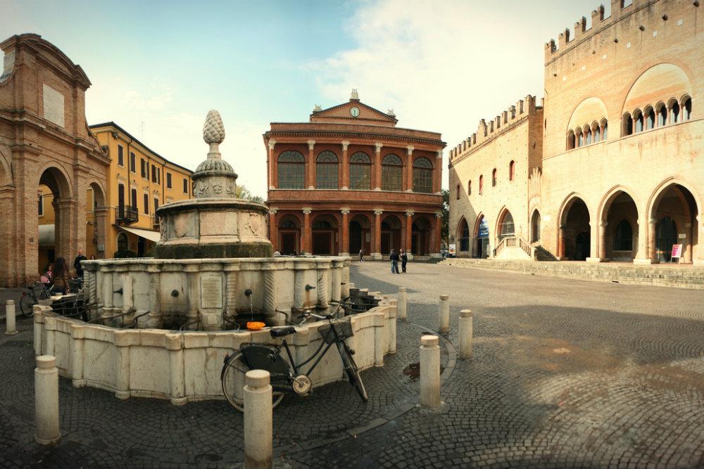Piazza Cavour Rimini