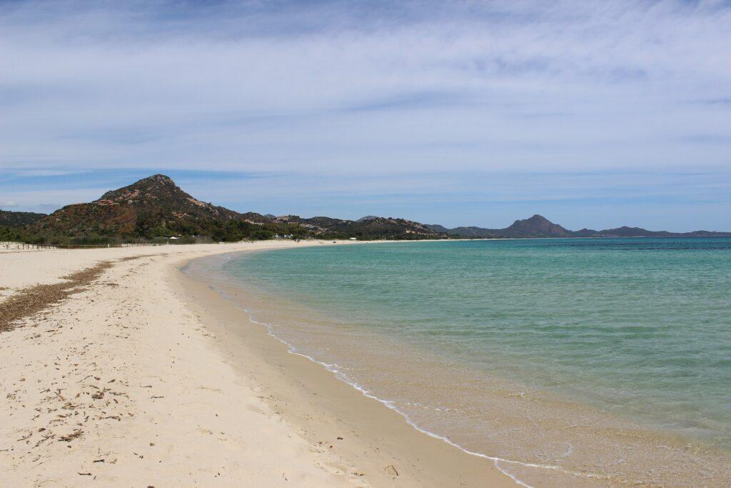 Spiaggia di San Vero Millis in Sardegna