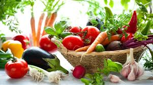 fresche verdure di stagione